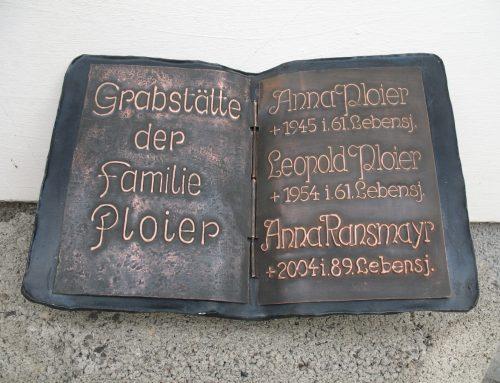 Schrifttafeln und Beschriftungen